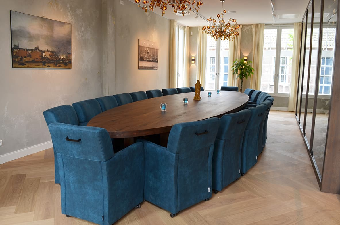 Boardroom meeting room buccaneer delft 20 persons